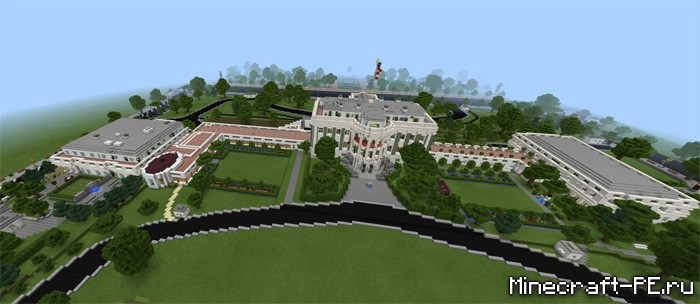 Карта The White House | Minecraft PE 1.2.0