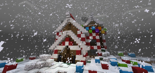 Карта Gingerbread House | Minecraft PE 1.2.0