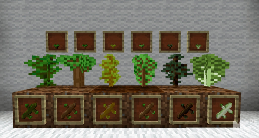 Мод Bonsai Tree Crops 1.12.2 [PC]