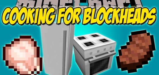 Мод Cooking for Blockheads 1.12.2 [PC]