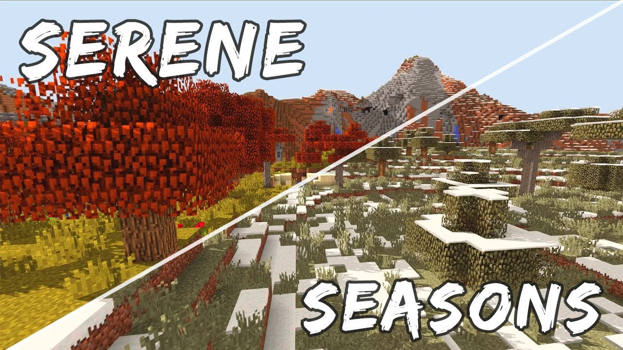 Мод Serene Seasons 1.12.2 [PC]