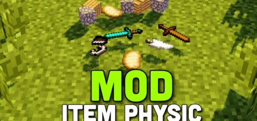 Мод ItemPhysic 1.12.2 [PC]