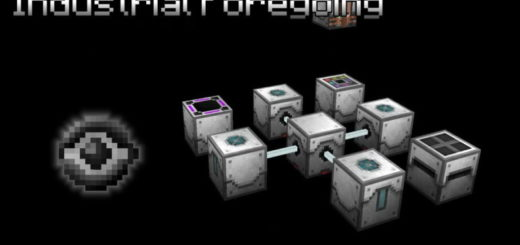 Мод Industrial Foregoing 1.12.2 [PC]