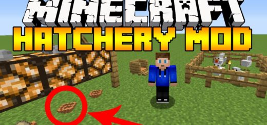 Мод Hatchery 1.12.2 [PC]