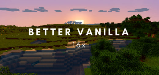 Текстура Better Vanilla 1.13.2, 1.12.2 [PC]
