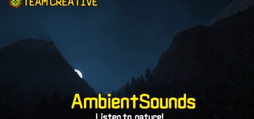 Мод AmbientSounds 1.14.3 / 1.13.2 / 1.12.2 [PC]
